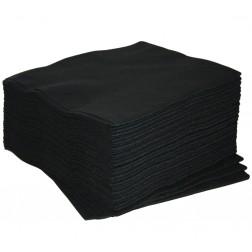 Sorte håndklæder