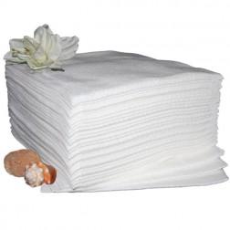 Badehåndklæde, hvidt - 60x110 cm. - 300 stk. pakninger